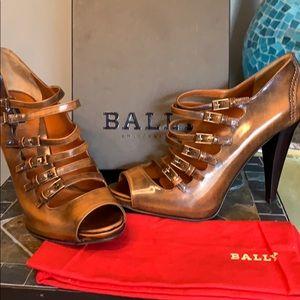 Bally Guniga Buckle heels